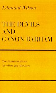 Cover of: The devils and Canon Barham