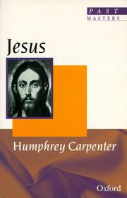Cover of: Jesus (Past Masters)