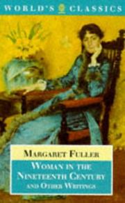 Cover of: Woman in the nineteenth century and other writings