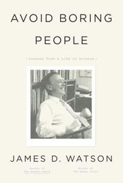 Cover of: Avoid Boring People | James D. Watson