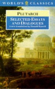Cover of: Selected Essays and Dialogues (Oxford World