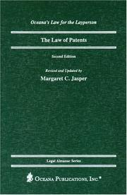 Cover of: The Law of Patents, 2nd Edition