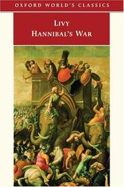 Cover of: Hannibal's war: books twenty-one to thirty