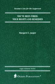 Cover of: You've Been Fired