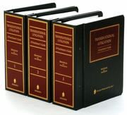 Cover of: Transnational litigation |