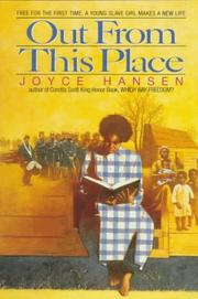 Cover of: Out from this place
