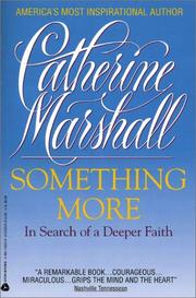 Cover of: Something More | Catherine Marshall