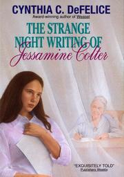 Cover of: The Strange Night Writing of Jessamine Colter