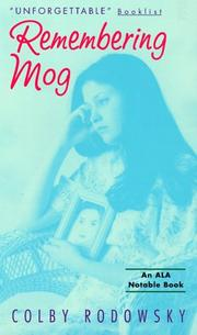 Cover of: Remembering Mog