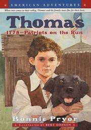 Cover of: American Adventures: Thomas: 1778--Patriots on the Run (American Adventures)