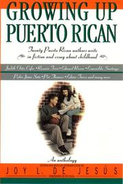 Cover of: Growing Up Puerto Rican
