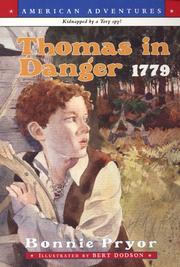 Cover of: Thomas in Danger 1779 (American Adventures)