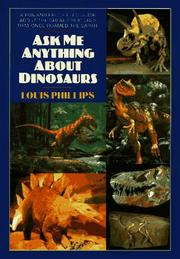 Cover of: Ask me anything about dinosaurs