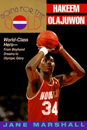 Cover of: Going for the gold--Hakeem Olajuwon | Marshall, Jane