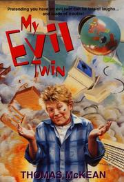 Cover of: My Evil Twin | Thomas McKean