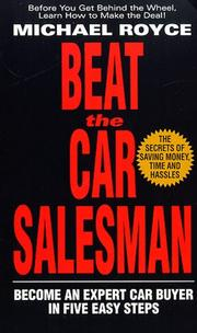 Cover of: Beat the car salesman