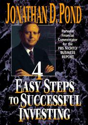 Cover of: 4 easy steps to successful investing | Jonathan D. Pond