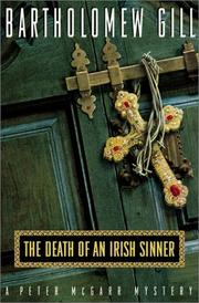 Cover of: The death of an Irish sinner