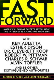 Cover of: Fast Forward | Alfred C. Sikes
