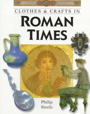 Cover of: Clothes & crafts in Roman times