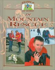 Cover of: People at work in mountain rescue | Deborah Fox
