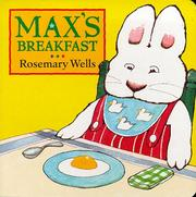 Cover of: Max's Breakfast (Max and Ruby)