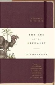 Cover of: The End of the Alphabet