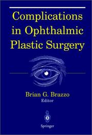 Cover of: Complications in Ophthalmic Plastic Surgery