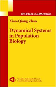 Cover of: Dynamical Systems in Population Biology (CMS Books in Mathematics)