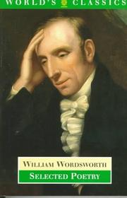 Cover of: Selected poetry by William Wordsworth