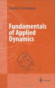 Cover of: Fundamentals of Applied Dynamics | Roberto A. Tenenbaum