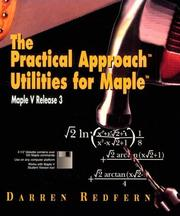 Cover of: Practical Approach Utilities for Maple