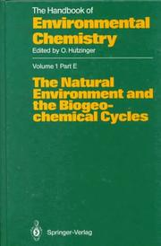 Cover of: The Natural Environment and the Biogeochemical Cycles