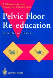 Cover of: Pelvic Floor Re-Education