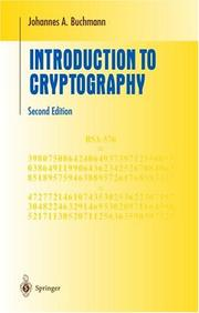 Cover of: Introduction to Cryptography (Undergraduate Texts in Mathematics)