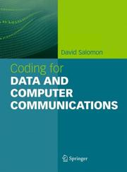 Cover of: Coding for Data and Computer Communications