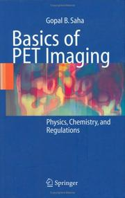 Cover of: Basics of PET Imaging