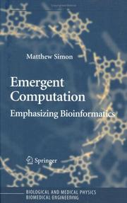 Cover of: Emergent Computation | Matthew Simon
