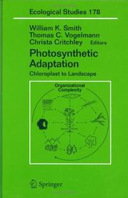 Cover of: Photosynthetic adaptation |