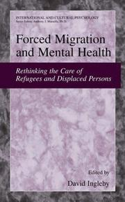 Cover of: Forced Migration and Mental Health