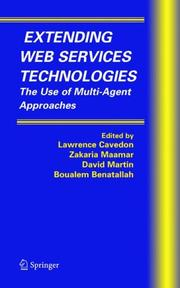 Cover of: Extending Web Services Technologies |