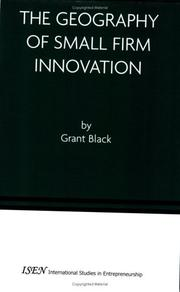 The Geography of Small Firm Innovation (International Studies in Entrepreneurship) by Grant Black