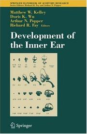 Cover of: Development of the inner ear |