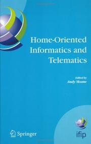 Cover of: Home-Oriented Informatics and Telematics