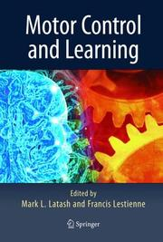 Cover of: Motor control and learning |