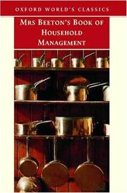 Cover of: Mrs Beeton's Book of Household Management