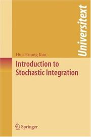Cover of: Introduction to Stochastic Integration (Universitext)