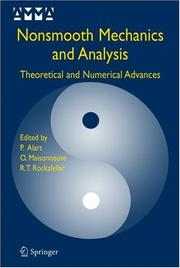 Cover of: Nonsmooth mechanics and analysis