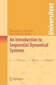 Cover of: An Introduction to Sequential Dynamical Systems (Universitext) | Henning Mortveit