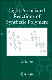 Cover of: Light-associated reactions of synthetic polymers
